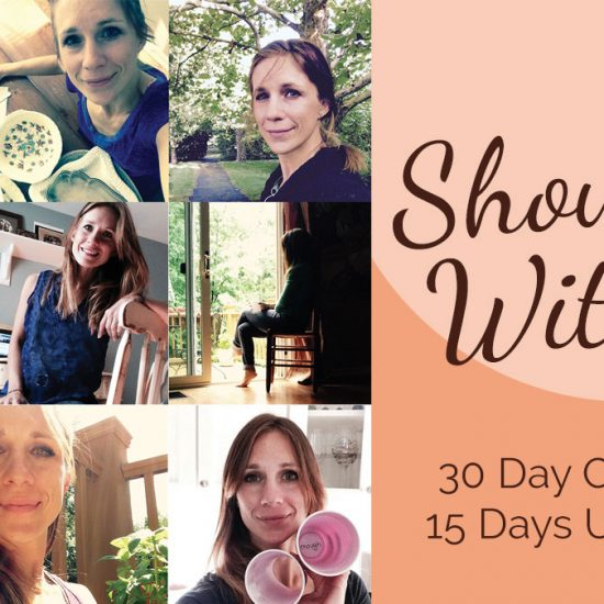 Show Up With Me - 30 Day Challenge