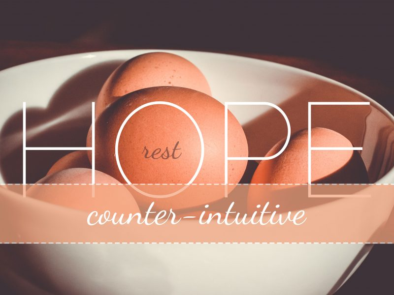 Counter-Intuitive Hope - REST