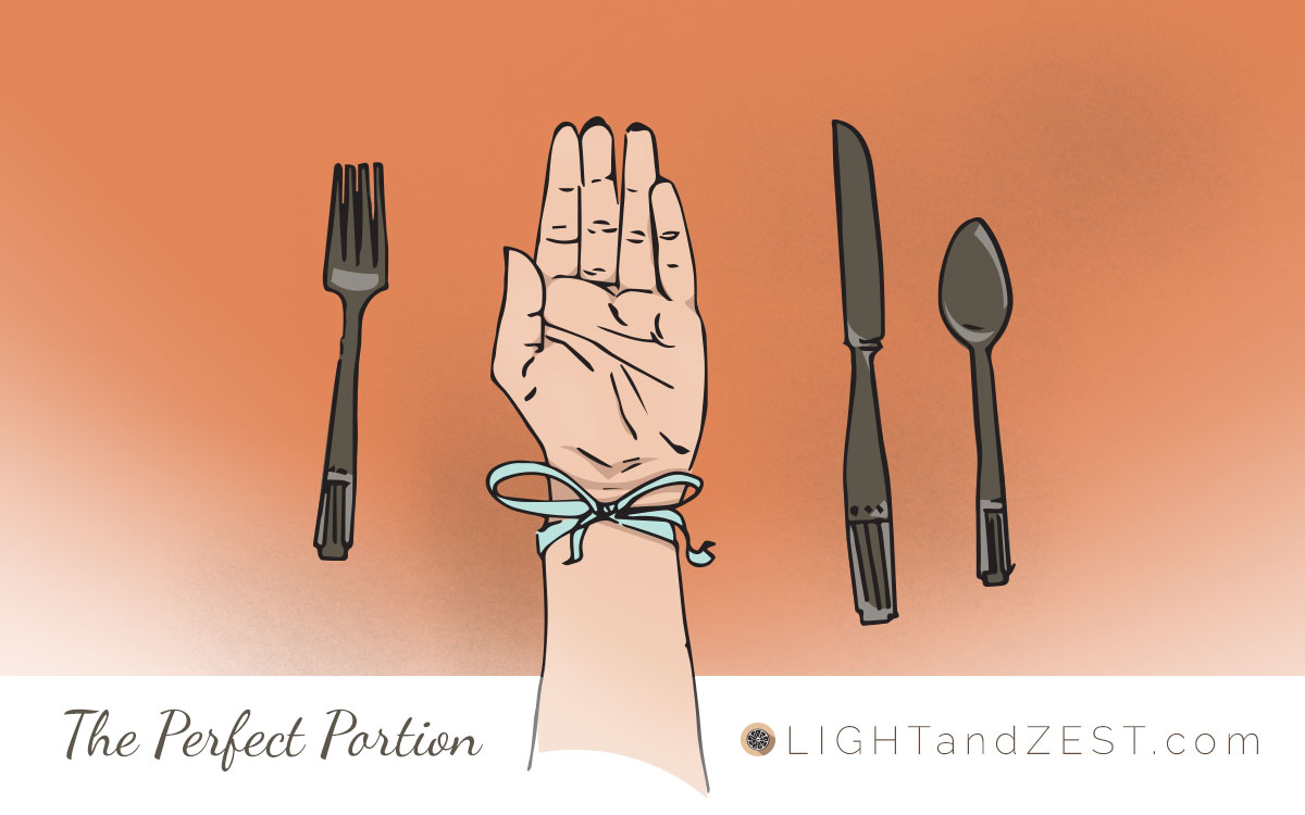 The Perfect Portion, LightandZest.com