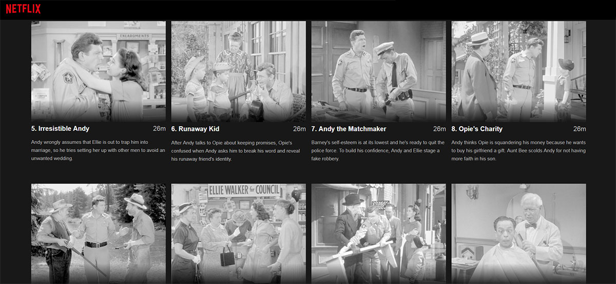Andy Griffith Show and the Positivity Project