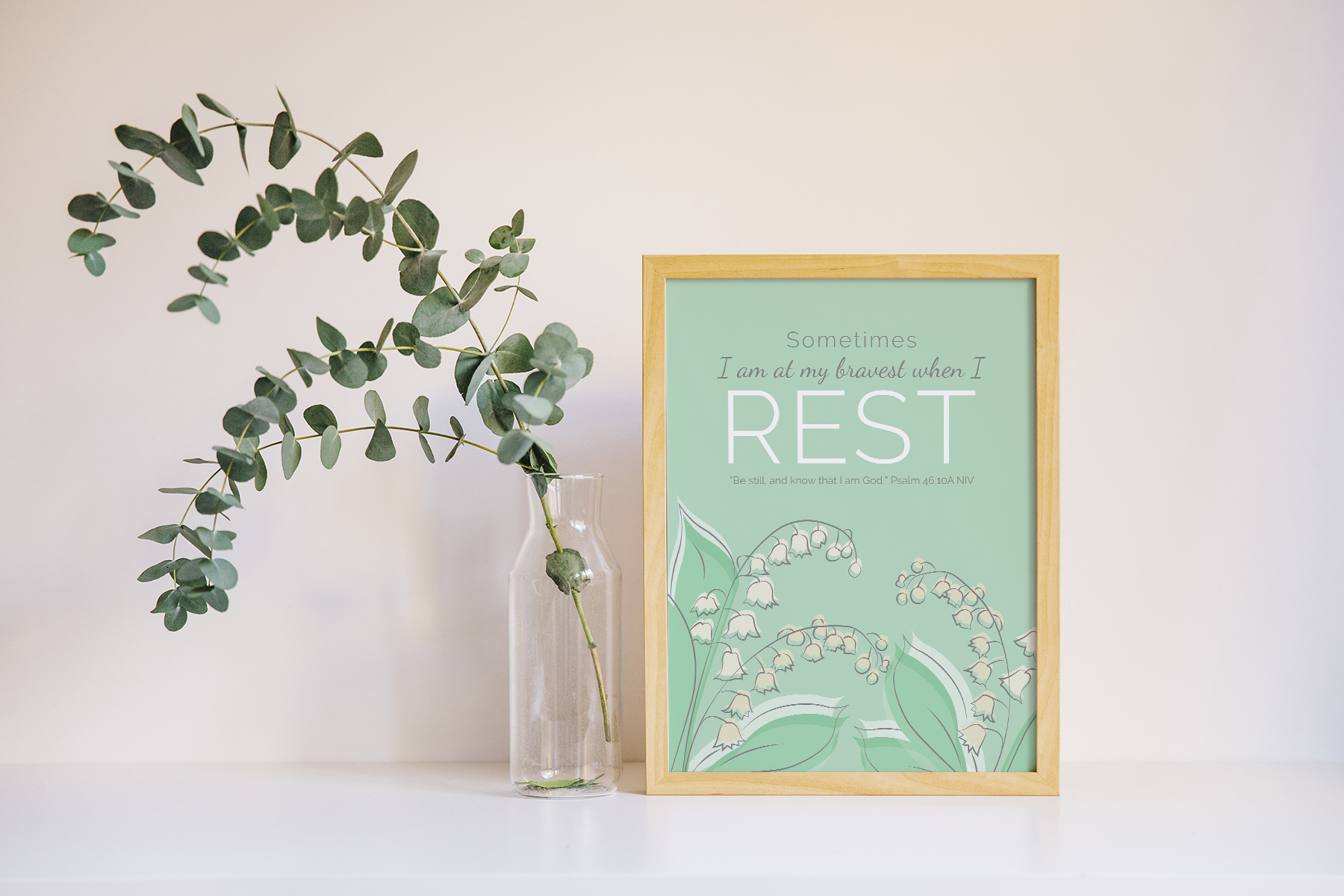Art From the Heart: When Rest is Brave